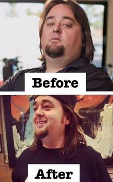 Chumlee's Incredible 150+ Pound Weight Loss Transformaton - pest